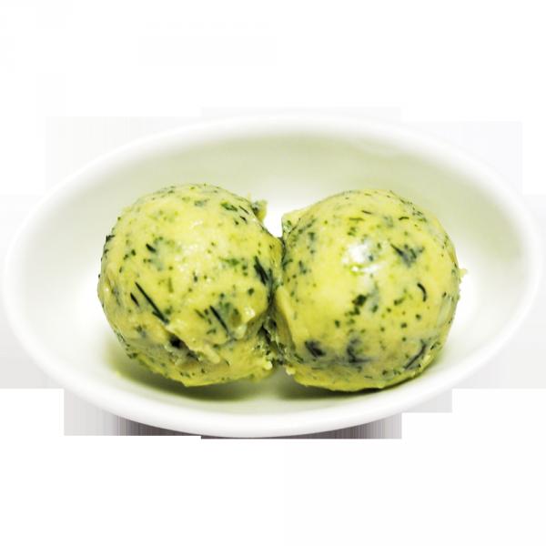 Масло с зелеными травами